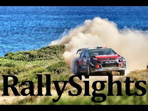 WRC Rally Italia Sardegna 2017' Breen Evans Sordo Meeke Hänninen Crash & Damage Moments