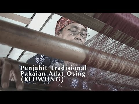 Penjahit Tradisional Pakaian Adat Osing Banyuwangi
