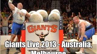 Giants Live 2013 Australia, Melbourne