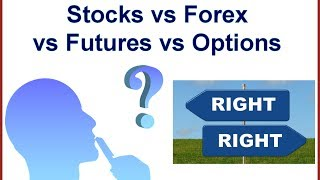 stocks vs forex vs futures vs options