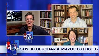 Sen. Amy Klobuchar & Mayor Pete Buttigieg Comment On Trump's Move To Keep Meat Plants Open