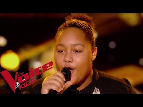 Stevie Wonder - Master Blaster | Mélia | The Voice Kids France 2018 | Demi-finale