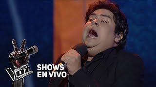"""Shows en vivo #TeamAxel: Pedro Ríos canta """"Yo soy aquel"""" de Raphael - La Voz Argentina 2018"""