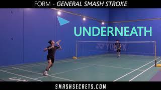 Perfect Smash   General Badminton Smash Stroke