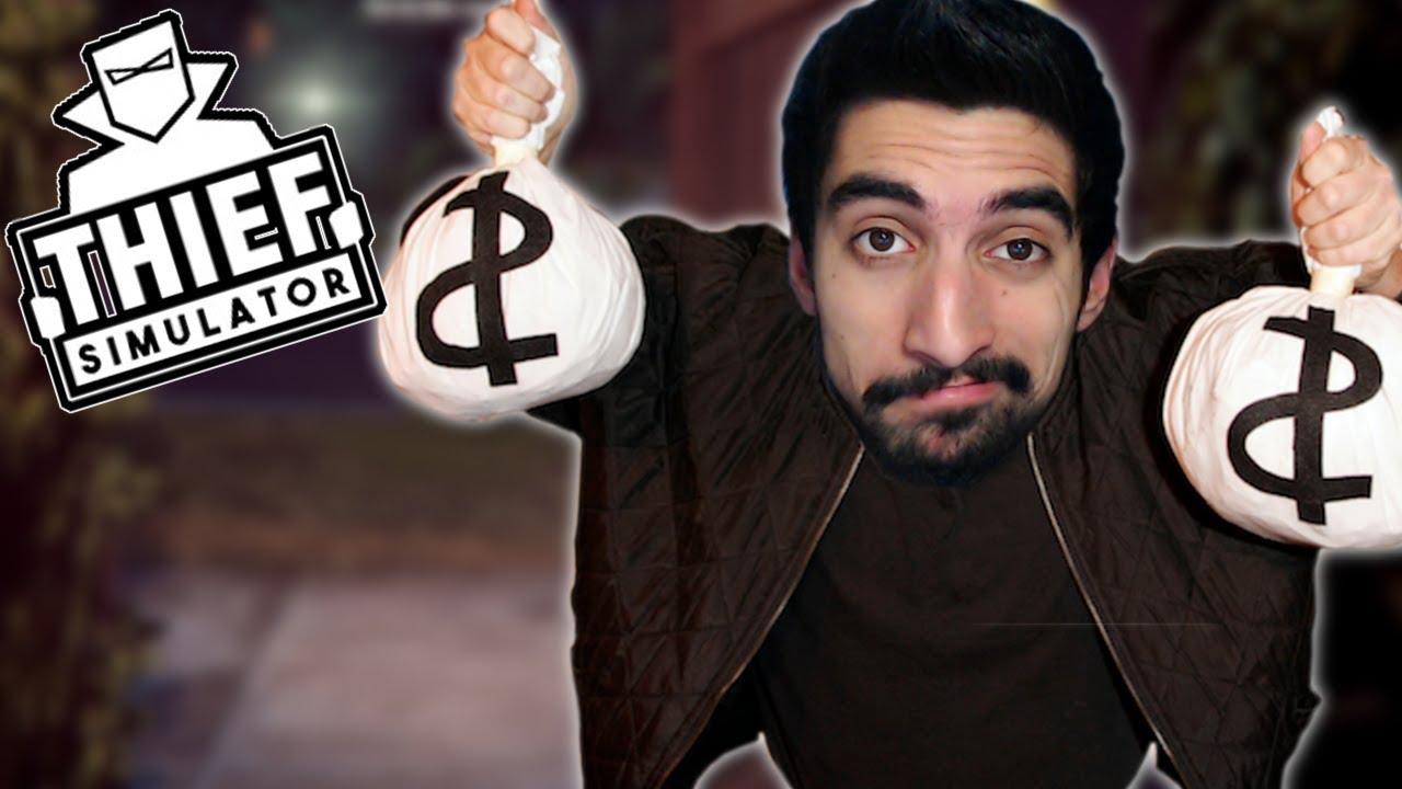 1c21cef69eb8 Δεν είναι εύκολο να  σαι κλέφτης - Thief Simulator - YouTube