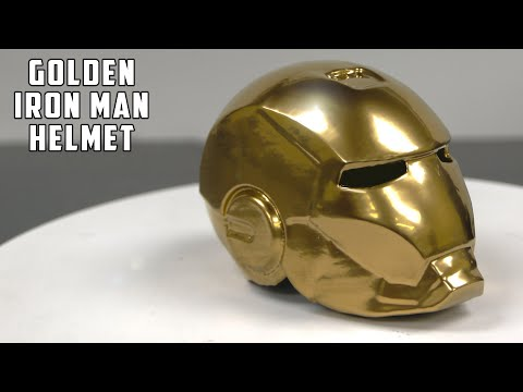 DID I MAKE THE MOST EXPENSIVE IRON MAN HELMET IN THE WORLD? WORTH 41,000$!