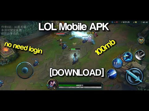 Lol Mobile Apk Download Youtube