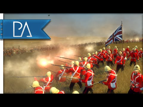 EPIC ANGLO-ZULU BATTLE - Anglo-Zulu War Mod Gameplay