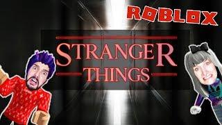 Roblox: STRANGER THINGS ENTKOMMEN - Nina & Kaan in Netflix Serie gefangen | STRANGER THINGS OBBY
