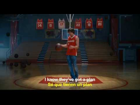 Scream   High School Musical 3 english  spanish lyrics HD  Subtitulado en ESPAÑOL & INGLES