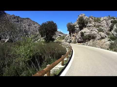 Sa Calobra, Mallorca, Rennrad Abfahrt 1080p