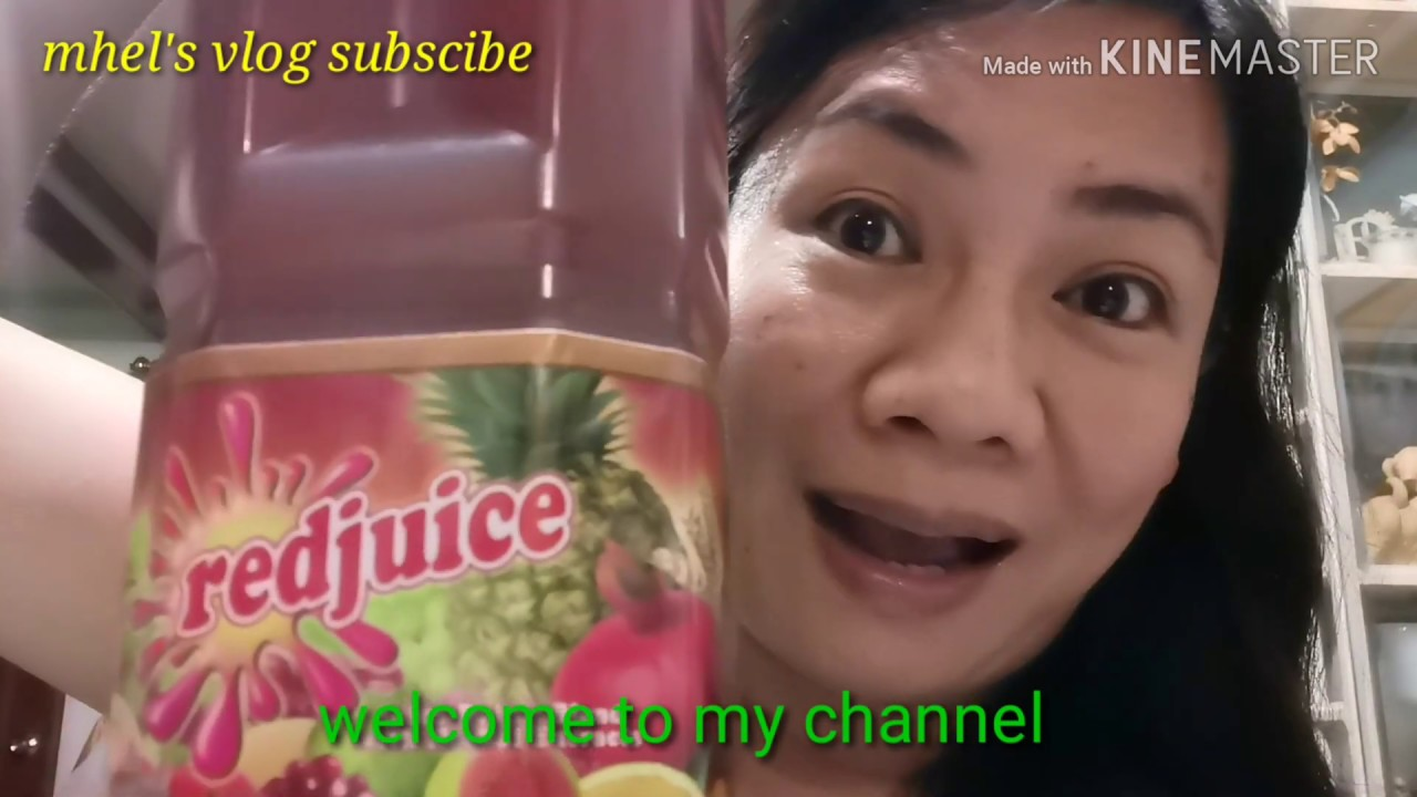 the amazing benefits of red juice - juice that blend w/herbal extract  :philippines
