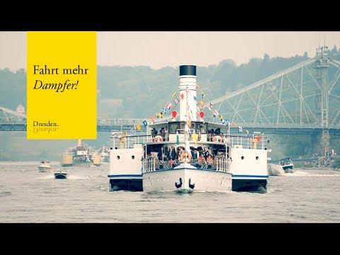 Dresden Dampferparade // Sächsische Dampfschiffahrt