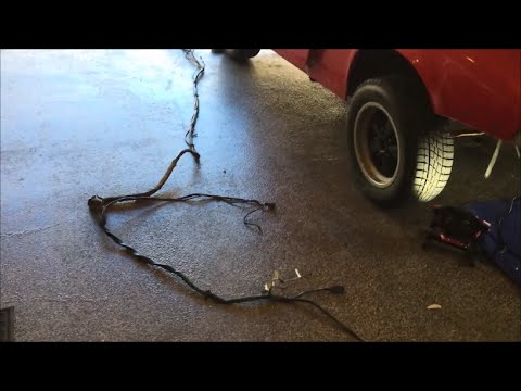 Porsche 911 Engine Electrical Wiring Harness Removal - YouTubeYouTube