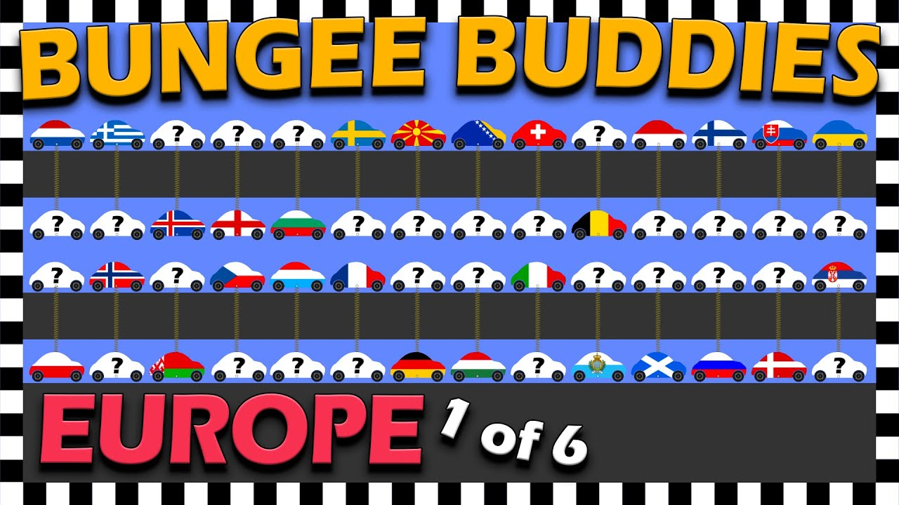 Country Cars Bungee Buddies Europe Car Race