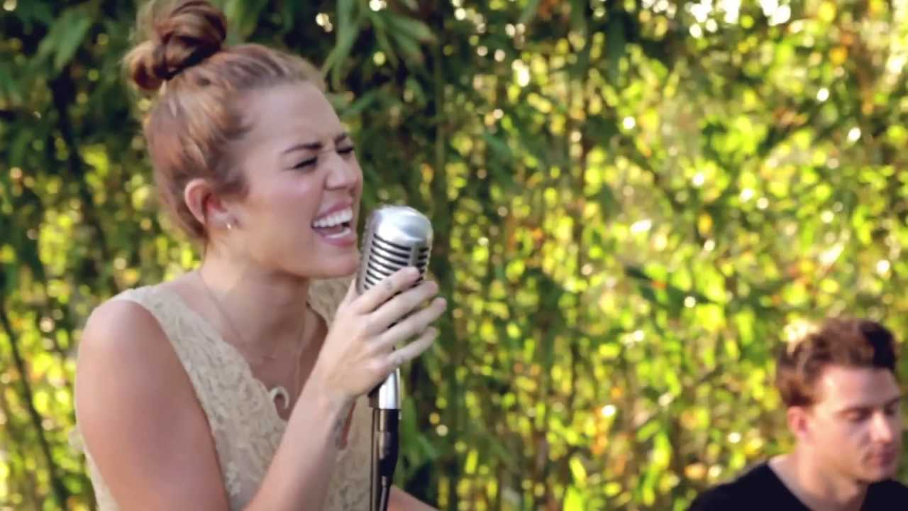 miley cyrus jolene the backyard sessions youtube