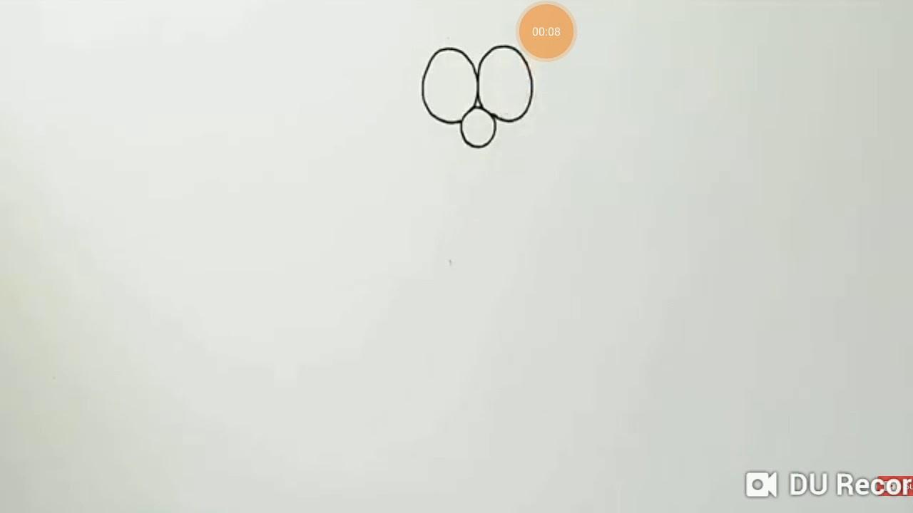Cách vẽ Doraemon đơn giản ♥♥♥♥♥♥