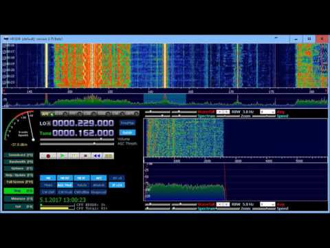Luxembourg effect on 162kHz