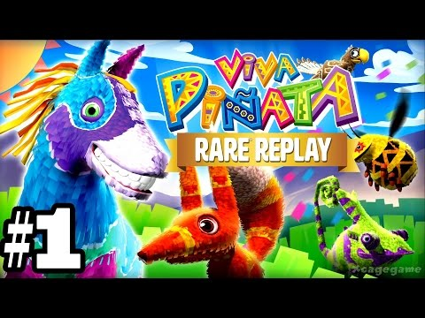 Rare Replay: Viva Pinata - Gameplay Walkthrough Part 1 [ HD ]