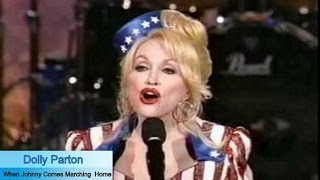 Dolly Parton When Johnny Comes Marching Home Official Music Video