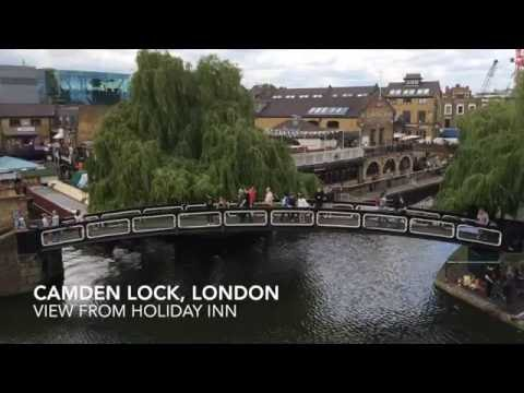 Holiday Inn London Camden Lock room tour