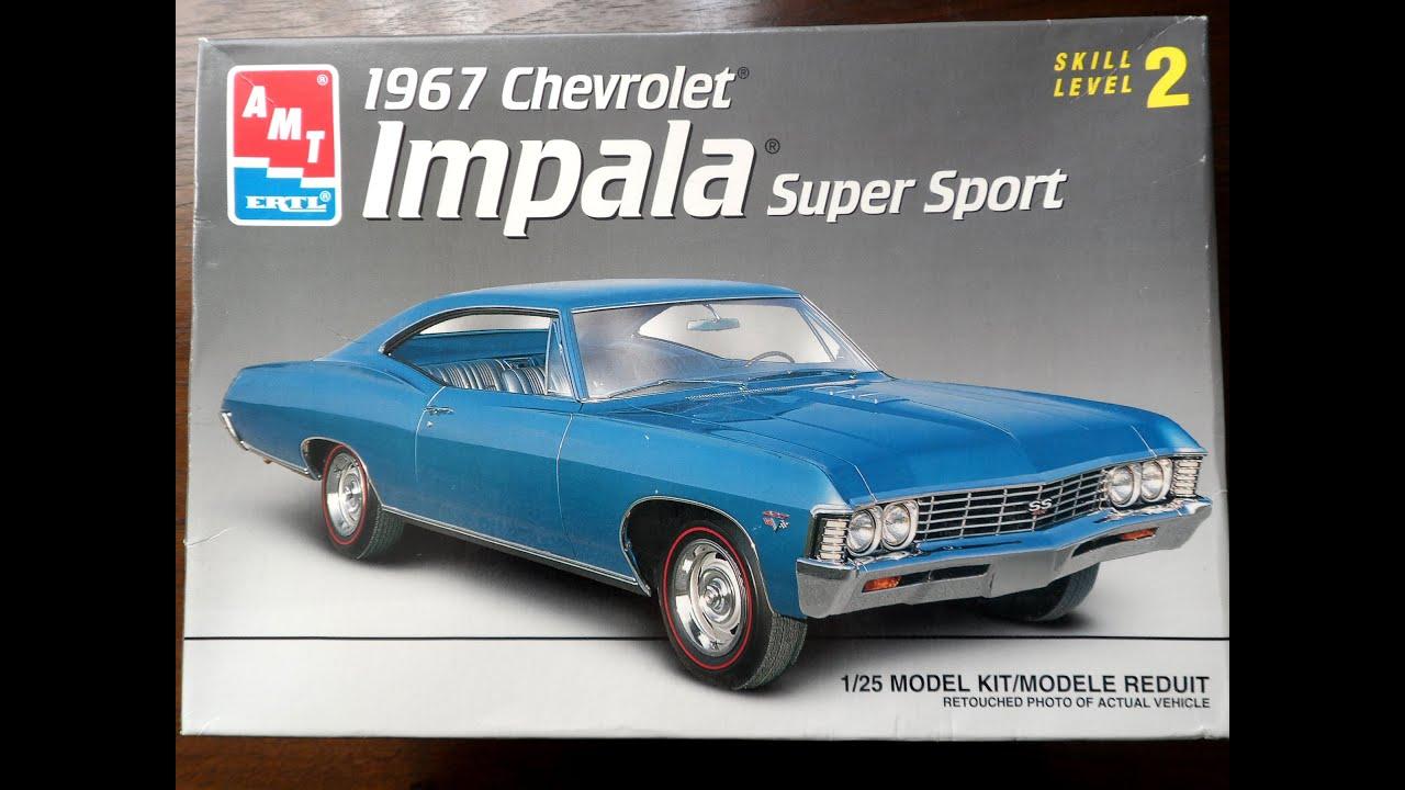 Model Kit Review Amt 1967 Impala Ss 09 11 14 Youtube