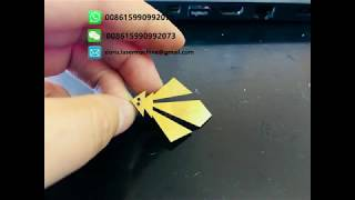 Jewelry Pendant Name cutting machine | Fiber laser marking machine for jewelry engraving cutting