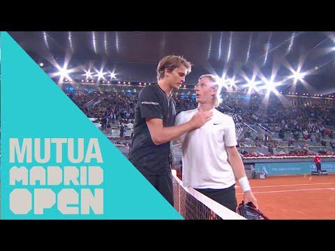 Highlights || Zverev-Shapovalov: Partidazo de semifinales del Mutua Madrid Open 2018