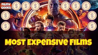 Most Expensive Films Of All Time | Top 10 High Budget Hollywood Films | In Telugu | Filmy Geeks
