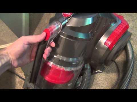 Hoover Zen Whisper Canister Vacuum Cleaner (SH40080) Review