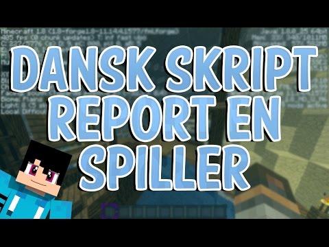 DANSK SKRIPT - Report en spiller!