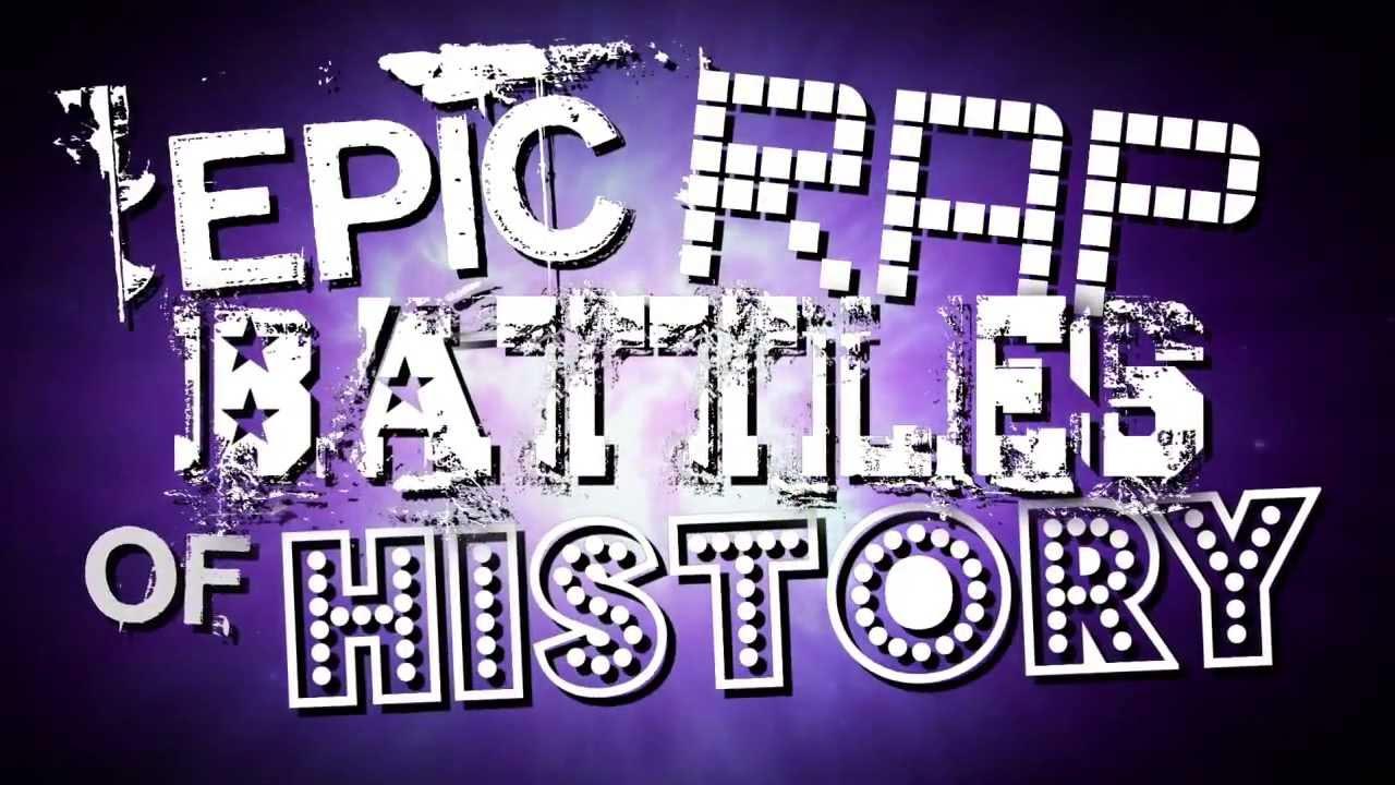 every epic rap battles of history intro season 2 youtube