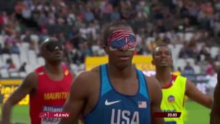 Men's 200m T11 | Round 1 Heat 2 | London 2017 World Para Athletics Championships