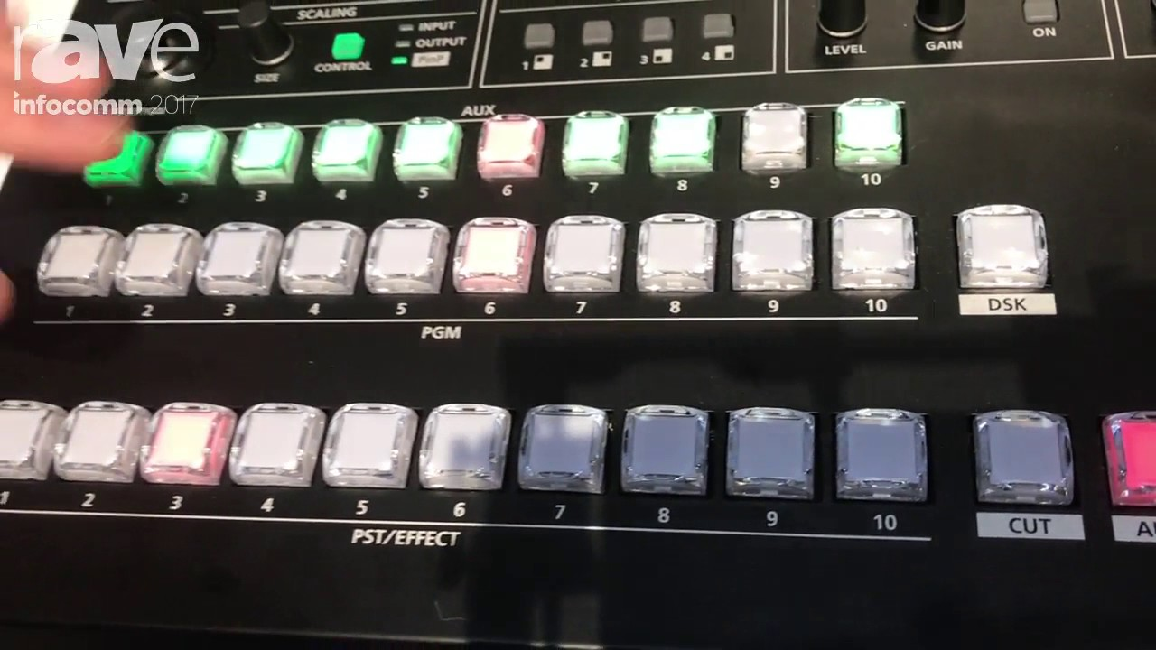 InfoComm 2017: Roland Shows Off V-800HD MK II Multi-Format Video Switcher