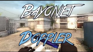 Bayonet | Doppler (Phase 4) Slowmotion Showcase - CS:GO *re-upload*