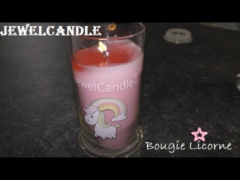 •JEWELCANDLE • Unicorn candle • ring reveal •