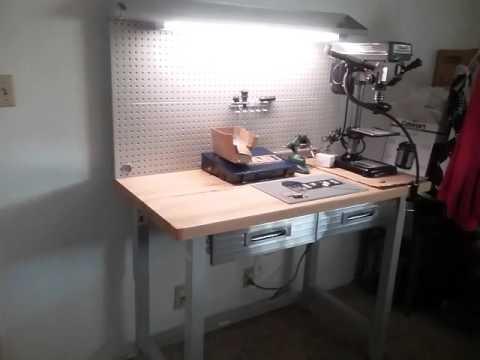 Seville Classics Workbench Review JBs mini Lock Lab