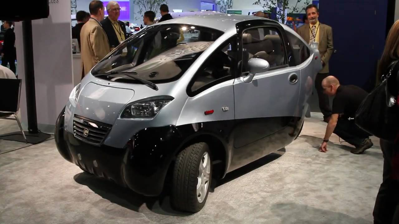 Green Vehicles All Electric Three Wheeled Triac Youtube