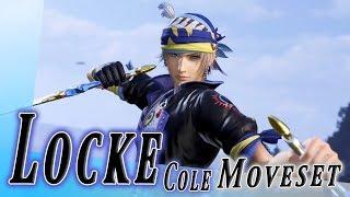 Locke Cole Moveset + Detail - Dissidia Final Fantasy NT (DFFAC/DFFNT)