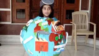 Save Earth fancy dress competion Subhika Jain.MPG