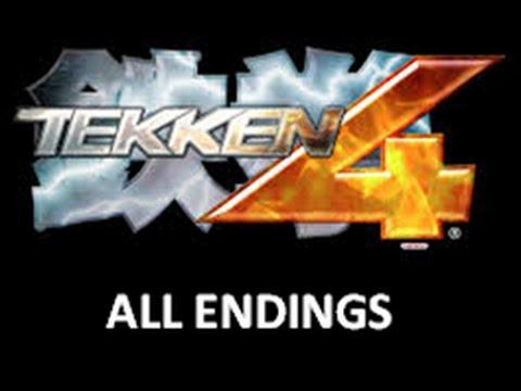 Tekken 4 All Endings