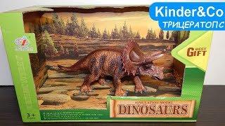 Фигурка Трицератопса. Обзор игрушки динозавр
