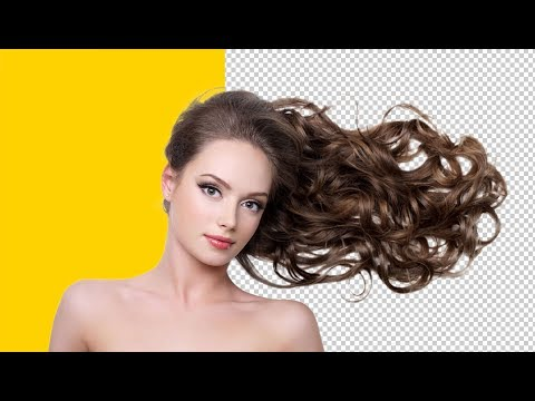 How to remove hair background in Photoshop | Photoshop Tutorial thumbnail