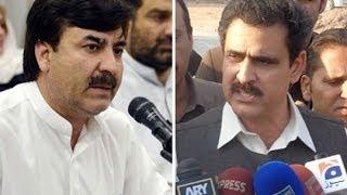 Dunya News-KP govt sacks Shaukat Yousafzai, Yasin Khaleel over bad performance