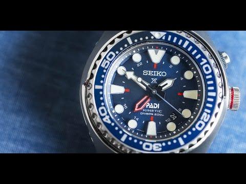 Seiko Prospex Special Edition PADI SUN065 Kinetic GMT Diver
