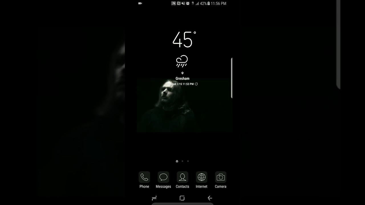 Meshuggah Live Wallpaper Android Youtube