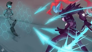 Undyne The Undying VS Skell Ezuom - Undertale Animation (Megatale Part - 7)