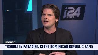 HotelPlanner.com CEO Tim Hentschel on i24 News About Danger in the Dominican Republic
