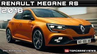 2018 RENAULT MEGANE RS Review Rendered Price Specs Release Date