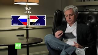 Russie ou Egypt ? Le pronostic de José Mourinho